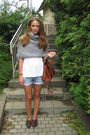 Gray-benneton-jumper-brown-henri-lloyd-shoes-blue-zara-shorts-white-h-m-t-
