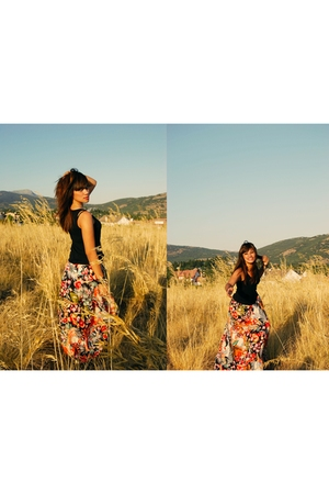 Oysho top - skirt