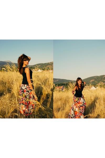 Oysho top - skirt