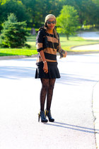 Prada boots - ann taylor sweater - missoni for target tights