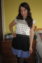 Dorothy Perkins blouse - H&M skirt