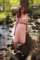 pink from sallyjanevintage on etsy dress
