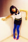 Red-newlook-shoes-blue-topshop-tights-yellow-bugis-street-belt-white-siste