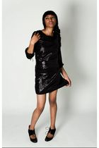 black Kisami blouse - black Kisami skirt