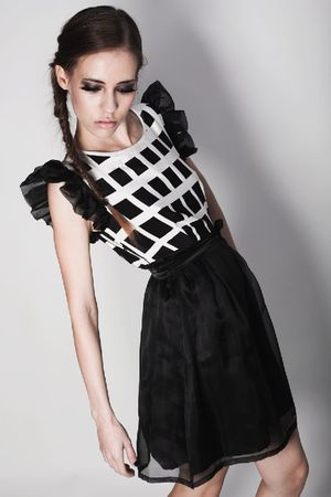 black Kisami dress