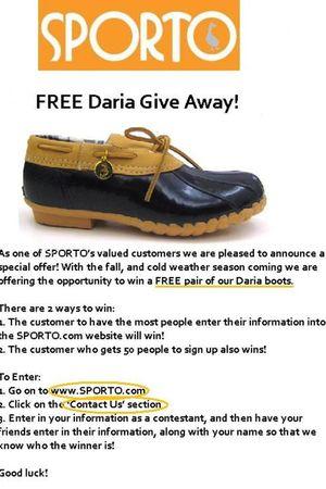 gold sporto shoes