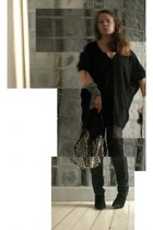 Babooshka Boutique t-shirt - Lee jeans -  shoes - Sonia Rykiel purse -  scarf