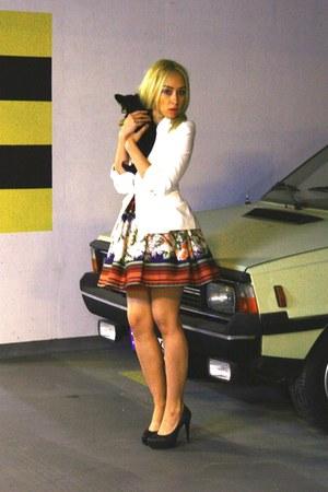 Zara jacket - kazar heels