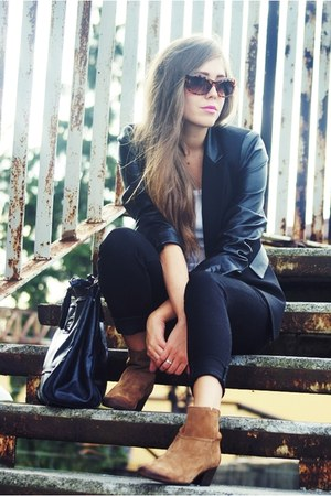 total look Mango blazer