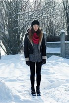 Orsay jacket - blink shoes - Evie hat - DIY scarf