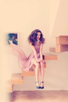 light pink TKmaxx dress
