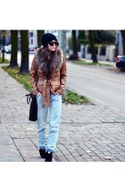 reserved jacket - Mango shoes - Zara jeans - Mango sunglasses