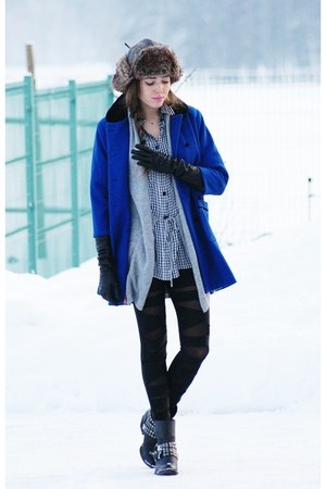 wwwwholesale-dressnet leggings - blink shoes - vintage coat