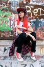 Choies-shirt-converse-sneakers