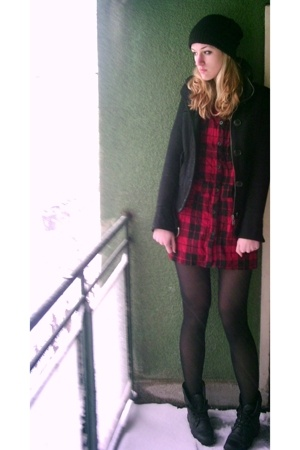 Pimkie dress - Bershka jacket