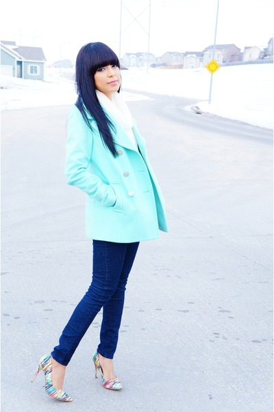 aquamarine Old Navy jacket