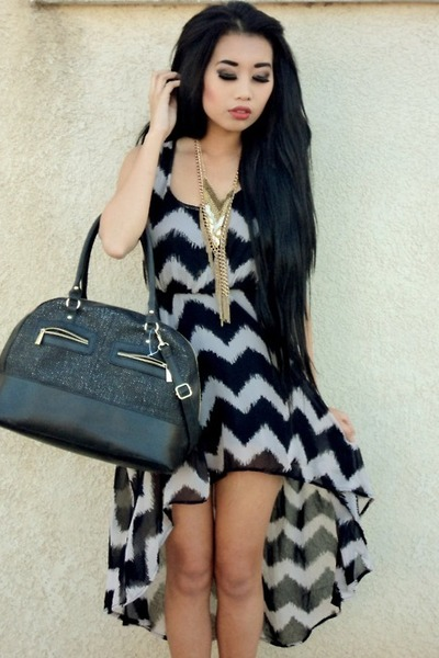 zig zag Forever 21 dress