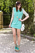mint Sheinside dress