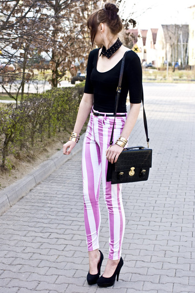 striped Motel Rocks pants