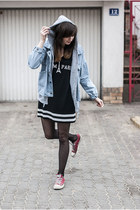 denim Sheinside jacket