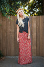 Anthropologie-skirt-h-m-t-shirt