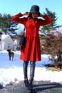 Dollhousemarshalls-shoes-ruby-red-rena-lange-coat-strawberrys-hat-striped-