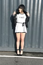 Black-varsity-forever-21-jacket-black-lace-nasty-gal-shorts