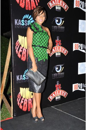 Kikis Fashion dress - Aldo shoes - Aldo bag