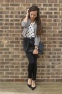 Stripe-handm-blazer-envelope-clutch-diy-bag-polkda-dot-new-look-top