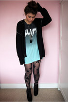 oversized Topshop t-shirt