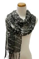 black Kmart scarf