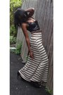 Sequined-express-top-striped-maxi-random-corner-store-skirt-talbot-belt-al
