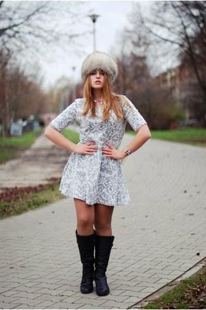 periwinkle TK Maxx dress