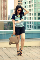 Oasapcom necklace - Zspoke by Zac Posen bag - Old Navy shorts - TOMS sandals