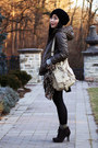 Leopard-print-h-m-scarf-suede-luxury-rebel-boots-uniqlo-jacket