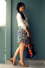 H-m-skirt-nine-west-shoes-longchamp-bag-h-m-blouse