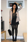 Gray-urban-outfitters-blazer-black-american-apparel-intimate-black-forever-2