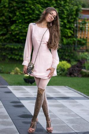 Primark dress - H&M tights - Zara heels