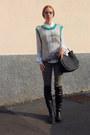 Rodarte-sweater-bruno-magli-boots-marni-sunglasses