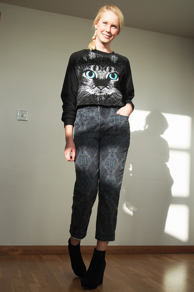 black Krossy top - black Krossy pants