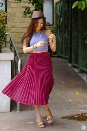 brick red WAGW skirt