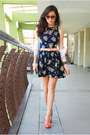 Navy-love-dress-aquamarine-clothes-for-the-goddess-bag