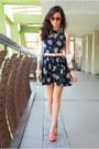 Navy-love-dress-aquamarine-clothes-for-the-goddess-bag
