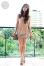 Brown-celine-bag-tan-call-it-spring-heels-gold-windsor-skirt-tan-romwe-top