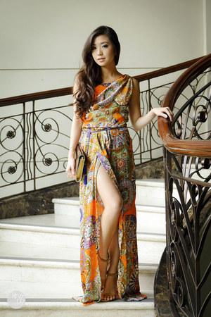 orange Style Staple dress