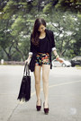 Black-iwearsin-blazer-black-covetz-shorts-black-monkee-business-top