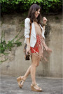 White-forever-21-jacket-dark-brown-louis-vuitton-bag-tan-danika-navarro-top-