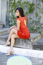Carrot-orange-furor-moda-dress