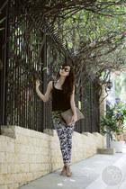 romwe bag - Sheinside pants