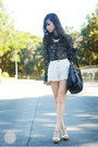 Dark-brown-island-girl-necklace-black-prada-bag-ivory-closet-goddess-shorts
